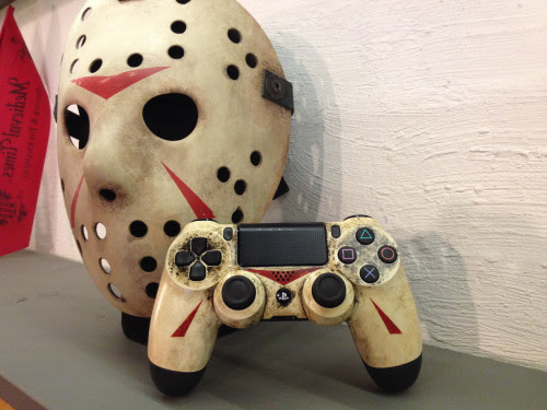 My custom Jason/Friday the 13th custom dual shock 4