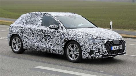 audi  spied  traffic  production ready