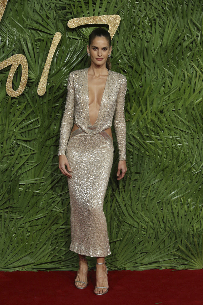 british fashion awards alfombra roja Izabel Goulart