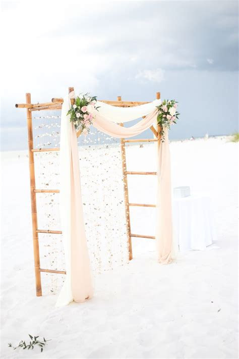 Best 25  Bamboo wedding arch ideas on Pinterest   Beach