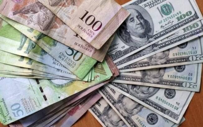 11º. Venezuela: você pode adquirir 2,85 bolívares fortes da Venezuela a cada R$ 1. Foto: AFP