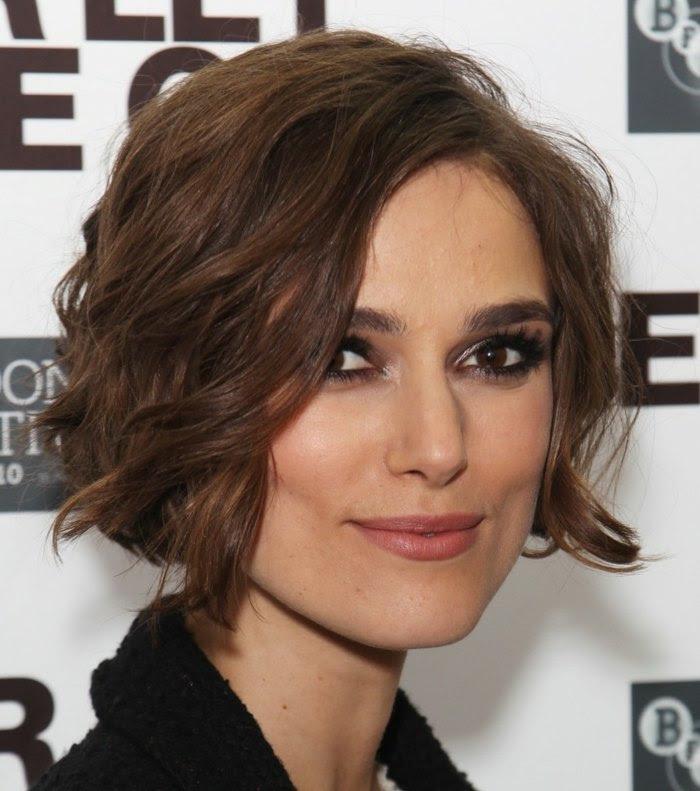 Moderne Frisuren Lockige Haare