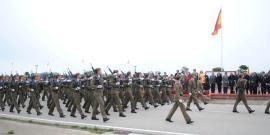 Desfile de la formación en San Fernando
