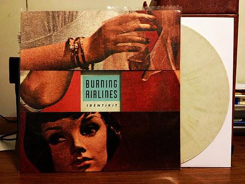 Burning Airlines - Identikit LP - White w/ Gold Vinyl (/250) by Tim PopKid
