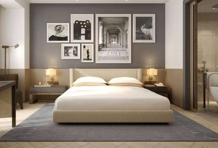 Highlight Memories With Wall Picture Frames For Bedroom Decoration