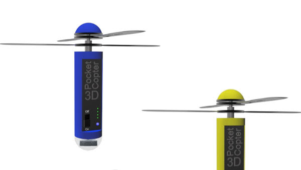 3D Pocketcopter flying camera - Last special