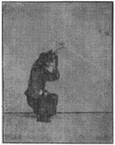 《昆吾劍譜》 李凌霄 (1935) - posture 67