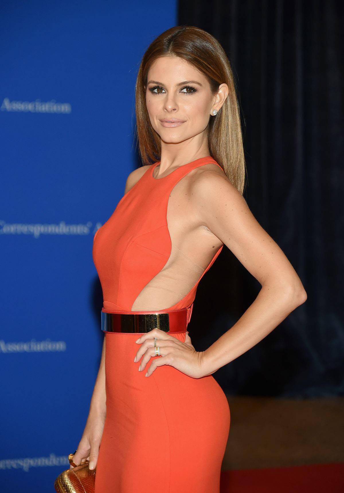 MARIA MENOUNOS at White House Correspondents Association Dinner in Washington
