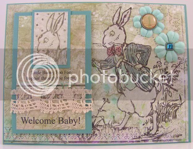 Baby Foo Foo Card