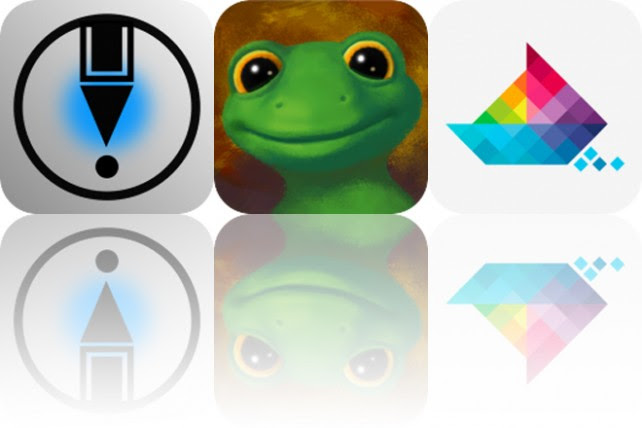 Today's Apps Gone Free: LetSketch, Lazy Larry Lizard and Sea