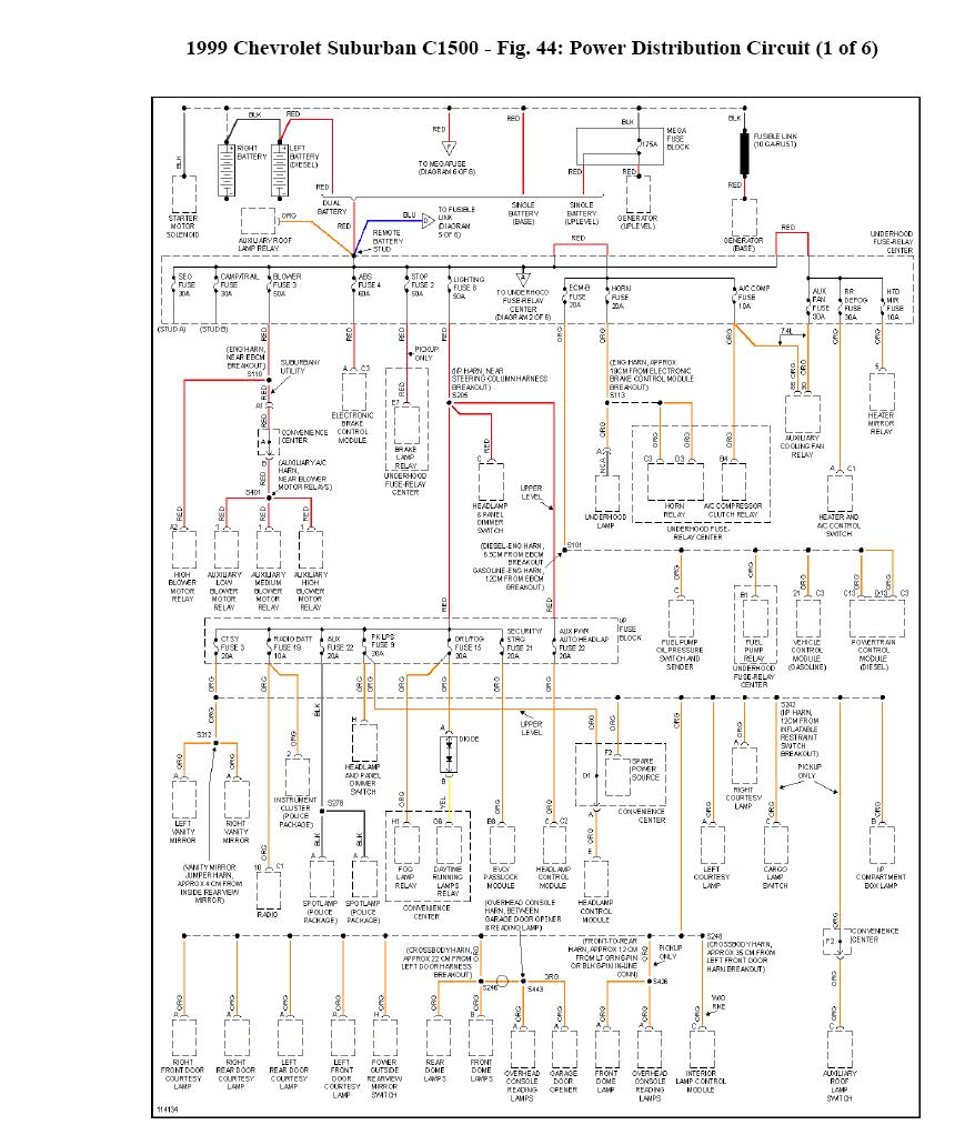 29 1999 Chevy Suburban Parts Diagram