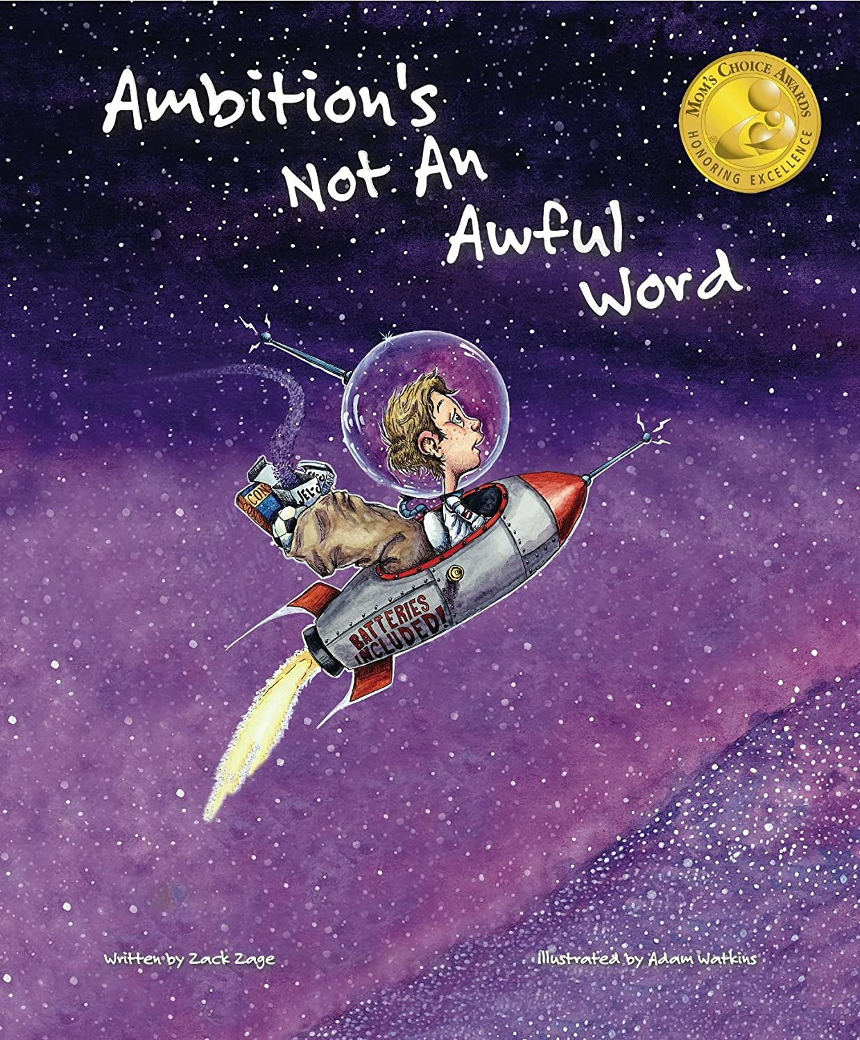Ambitions' Not an Awful World - book review for kids  {Reading List}