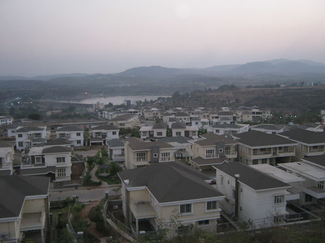 Paranjape Schemes' Forest Trails Township of Independent Bungalows, 2 BHK & 3 BHK Premium Apartments, 1 BHK & 2 BHK Smart Homes, near Manas Lake, on Paud Road, at Bhugaon, Pune 411 042, on 19th February 2012