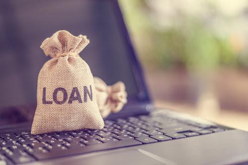 Online loans application