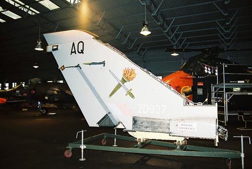 ZD937/AQ Tornado F.2 Tail