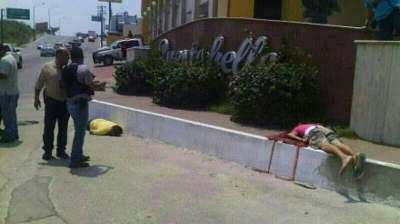 Hallazgo de dos cuerpos en Tampico, Tamaulipas. Foto: Valor por Tamaulipas.