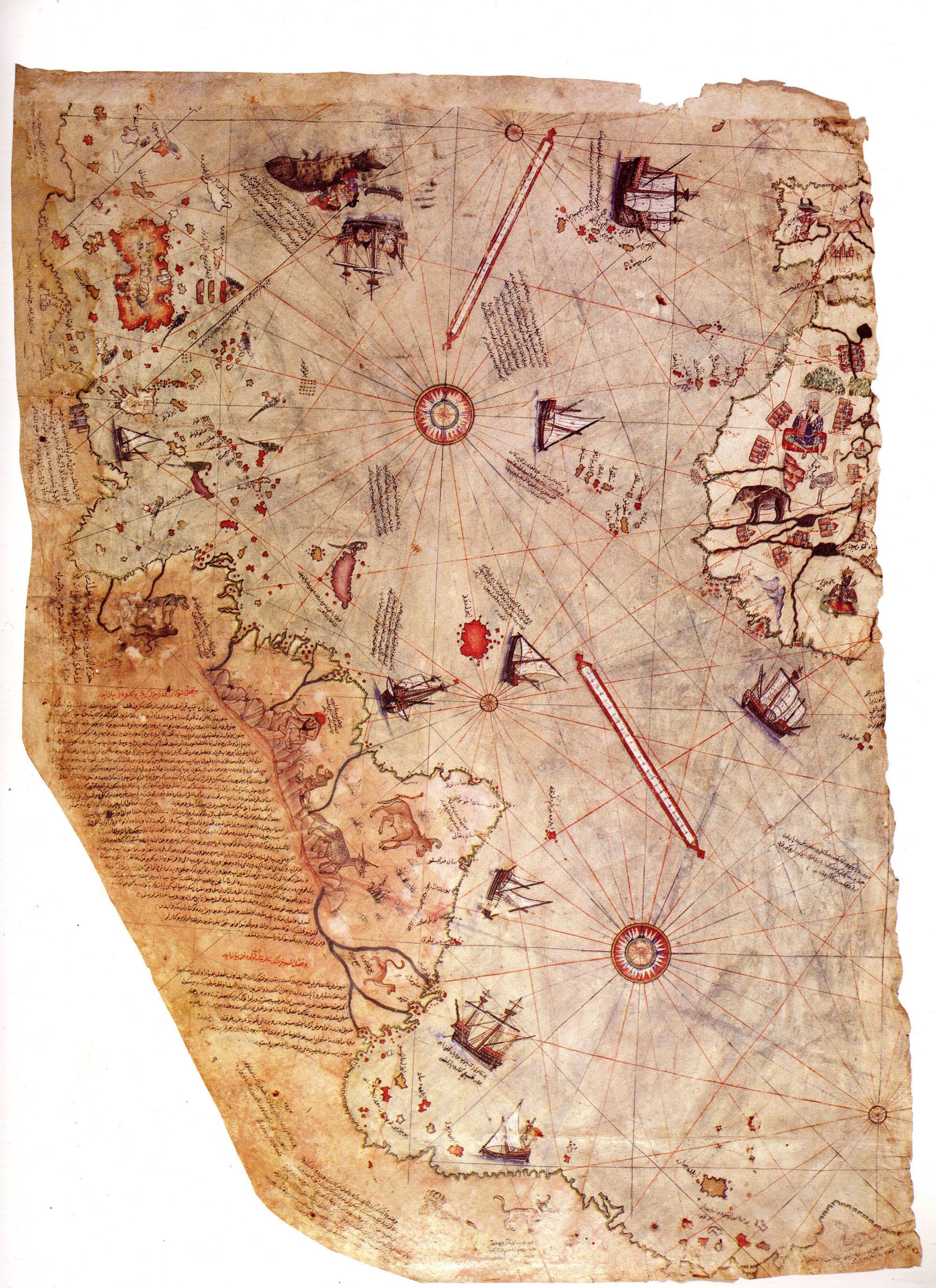ilk dünya haritasını kim çizdi