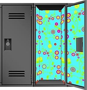 Locker Designz Deluxe Magnetic Locker Wallpaper, Gypsy