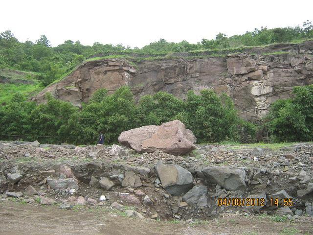 Cut, Demolished & Destroyed Hill of XRBIA Hinjewadi Pune - Nere Dattawadi, on Marunji Road, approx 7 kms from KPIT Cummins at Hinjewadi IT Park - 100