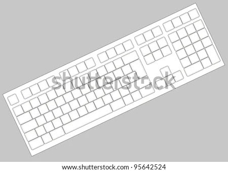 file blank extended keyboard svg wikimedia commons. printable ...