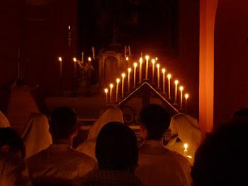 candles tenebrae