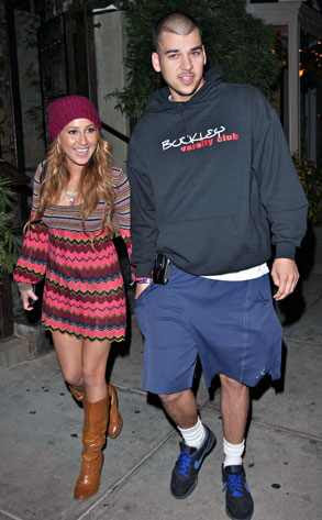 Robert Kardashian, Adrienne Bailon FAME PICTURES. Baby brother Rob of E!