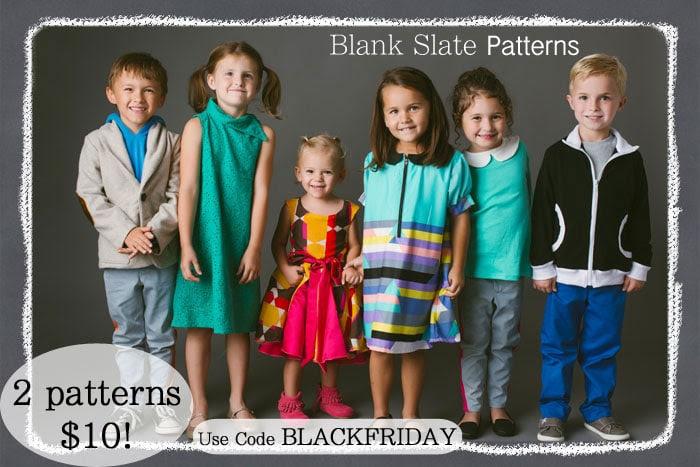 Blank Slate Patterns Black Friday Sale
