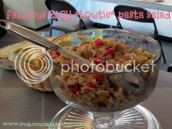 pasta salad: Sugar Mama Bakeshop