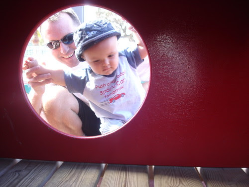 Oliver in playground (Port Andratx)