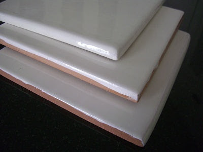 Handmade Tile with Different Thickness and Glazes