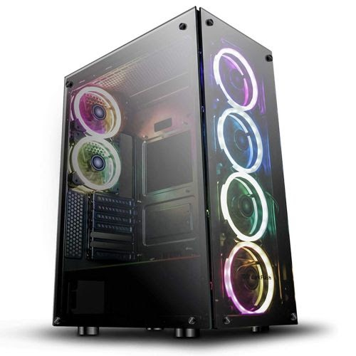 Aigo Boitier Gaming Darkflash Phantom 6 Fans