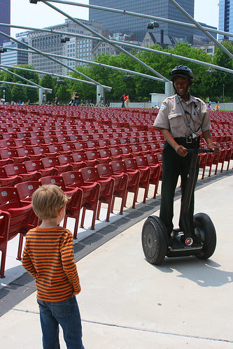 parkers first encounter with a segway