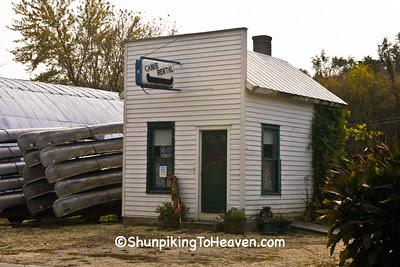 Canoe Rental Shop, Filmore County, Minnesota