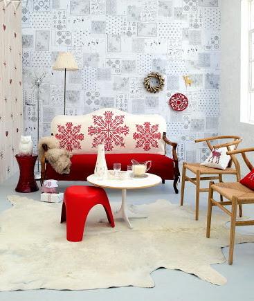 Decoración navideña de estilo nórdico/minimalista/moderna ...