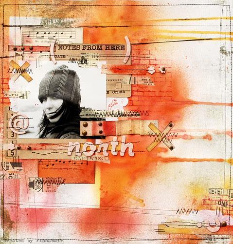 Północ - North