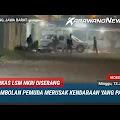 Markas LSM NKRI Diserang Gerombolan Pemuda