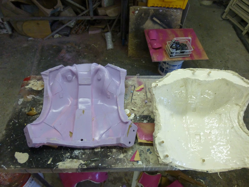 Back Mold Parts