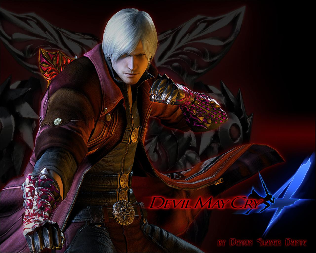 Hd Quality Devil May Cry 4 Cool Devil May Cry 4 Wallpapers
