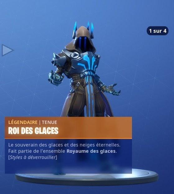 Fortnite Saison 7 Skin Roi Des Glaces Fortnite Free Quick Download