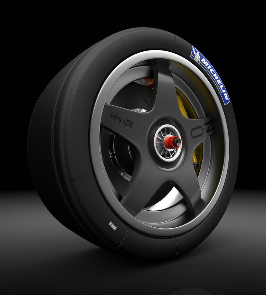OZ Racing GTR wheel CLOSEUP by