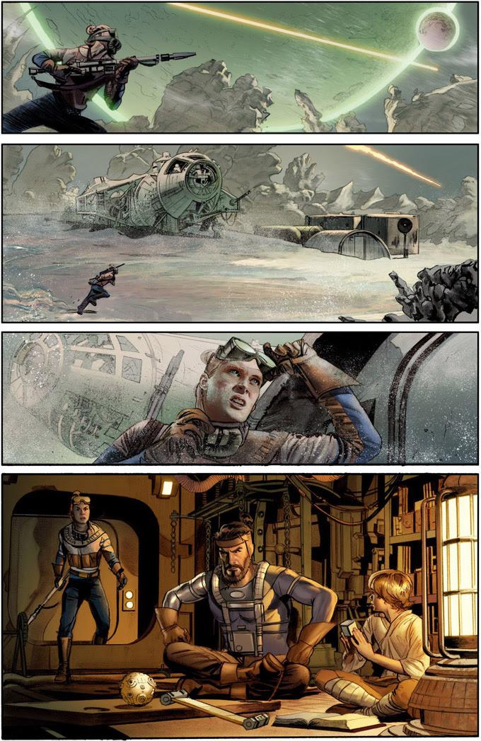 The Star Wars pagina 1