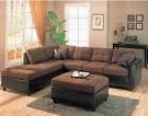 Brown Living Room Sectional Sofa - Top Home Design - 2264