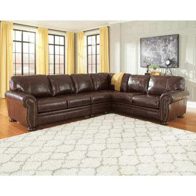 Signature Design By Ashley Banner 3 Pc Sectional