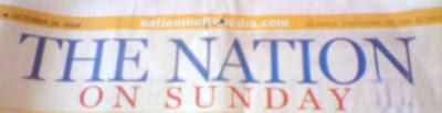 The Nation On Sunday