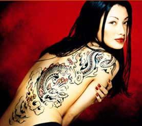 girls tattoo Comments Glitter Graphics Myspace