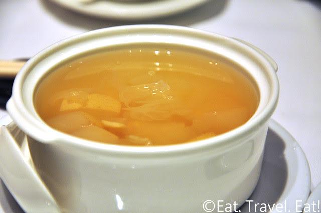 Zen Chinese Cuisine,Hong Kong- Pear Dessert Soup