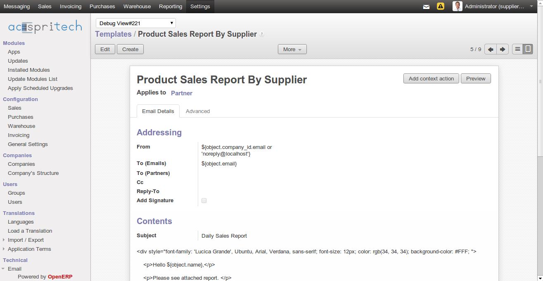 Daily Sales Report Email | Daily Agenda Calendar