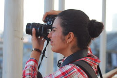 Women Photographers Have a Lot of Attitude ..Compared To Street Bloggers by firoze shakir photographerno1