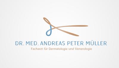 dermatologist and venereologist based in Switzerland near Zurich logo design