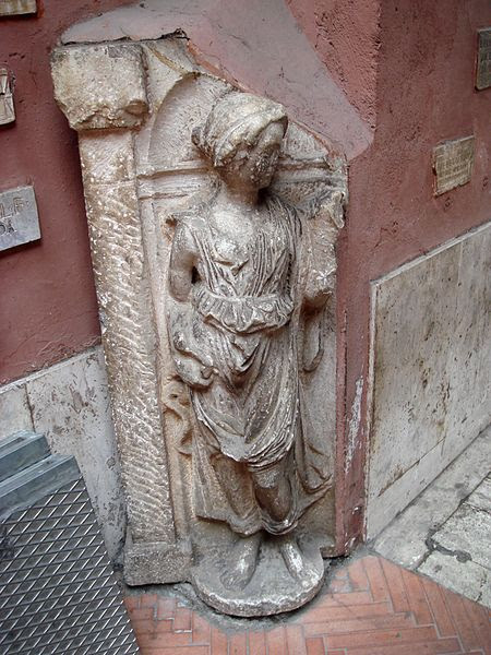 File:0255 - Roma - S. Silvestro in Capite - Cortile - Foto Giovanni Dall'Orto, 11-Apr-2008.jpg